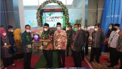 Bupati Pasaman Dampingi Kepala BPS RI Resmikan Gedung BPS untuk Tiga Kabupaten