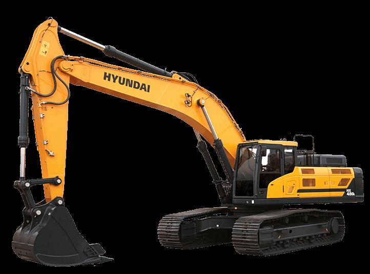 Hyundai Excavators HX480L