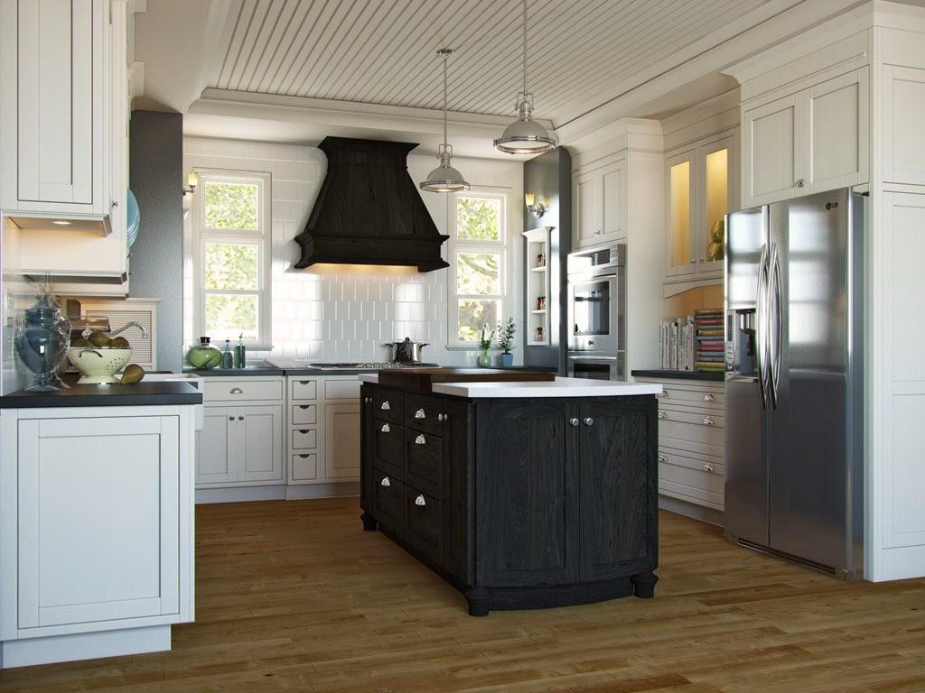 Kabinet Dapur Berkonsep English Design 01