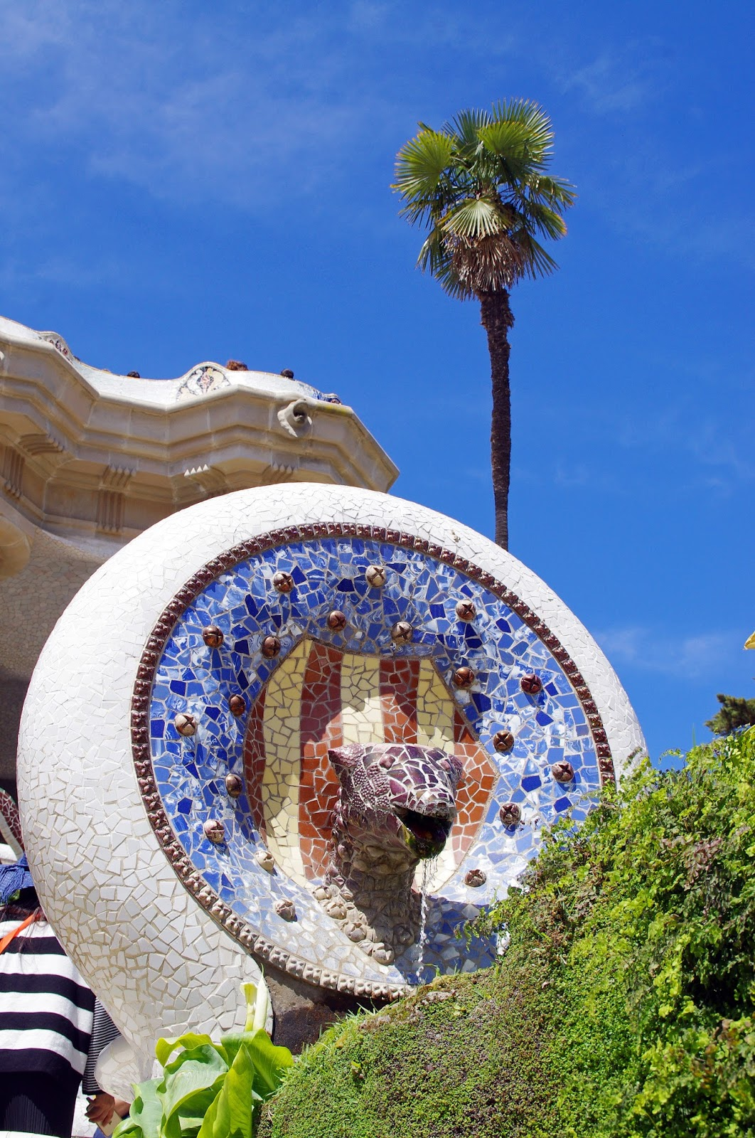 Park Guell Mosaics and Statues