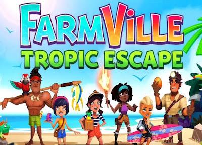 لعبة المغامرة الممتعة FarmVille Tropic Escape مهكرة للاندرويد