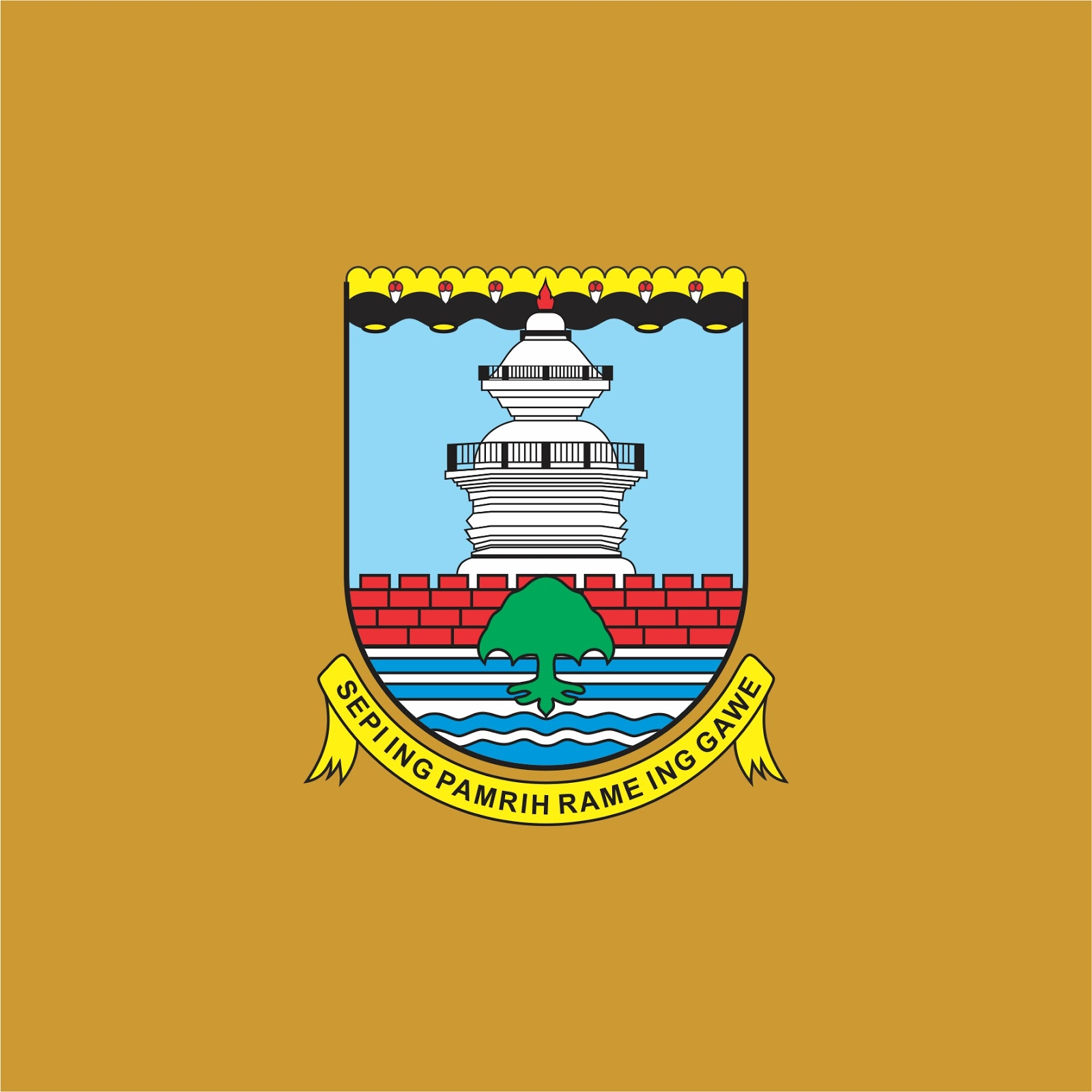 Download File Vector Logo Kabupaten Serang High Quality File Vector Berbagi Logo Vector Free