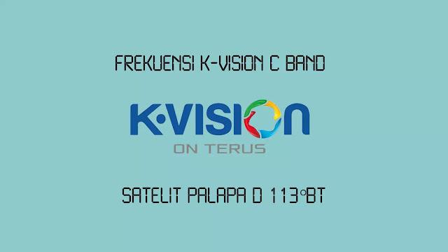 Frekuensi K-Vision C Band di Palapa D