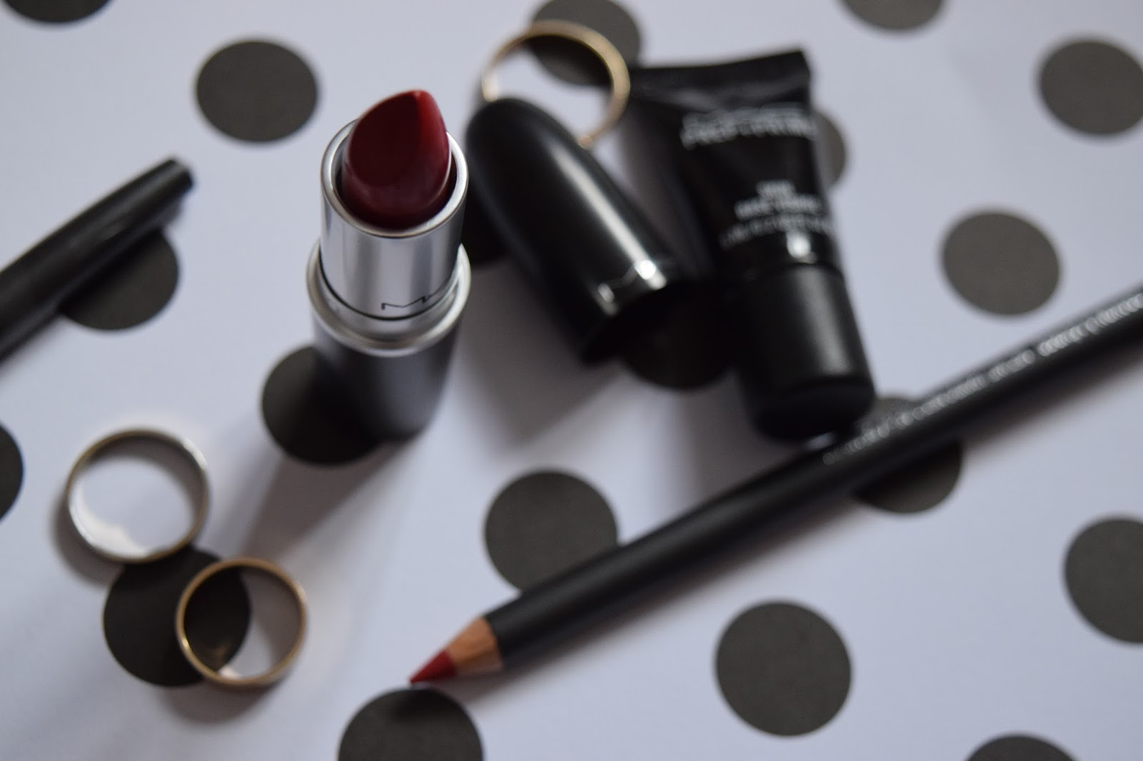 MAC Russian Red and Cherry