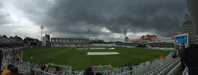 My view of the Trent Bridge Cricket Ground