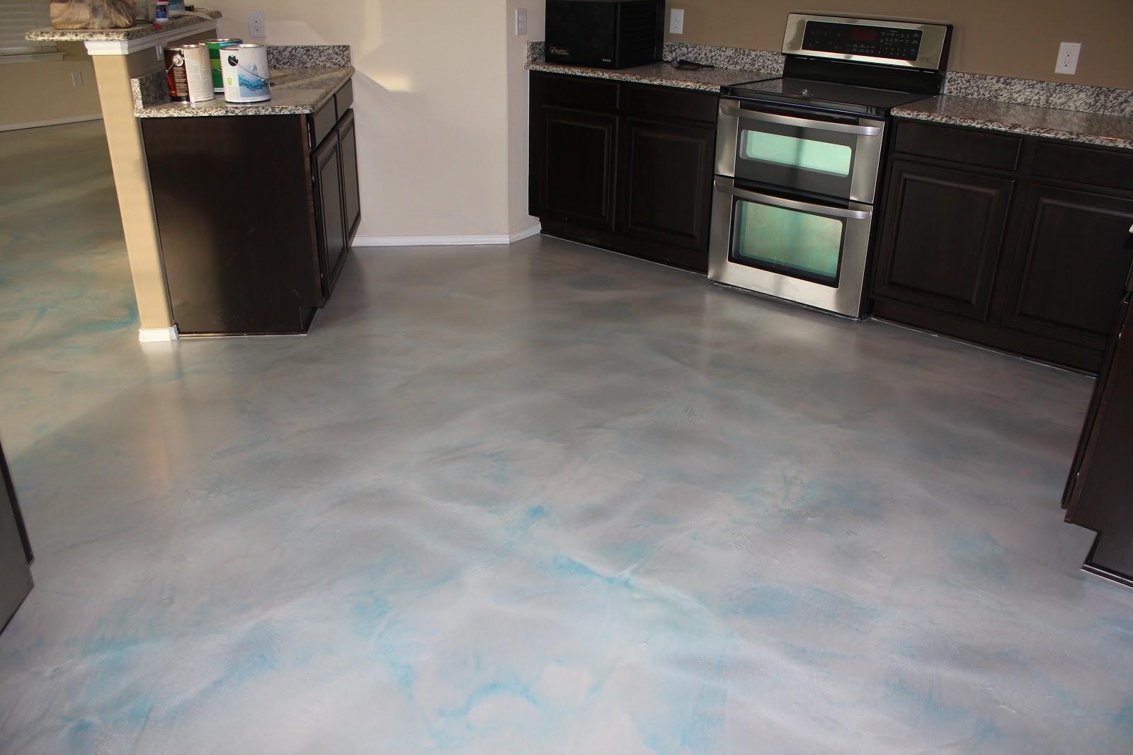 epoxy floor coatings: metallic epoxy in a house - aubrey, texas