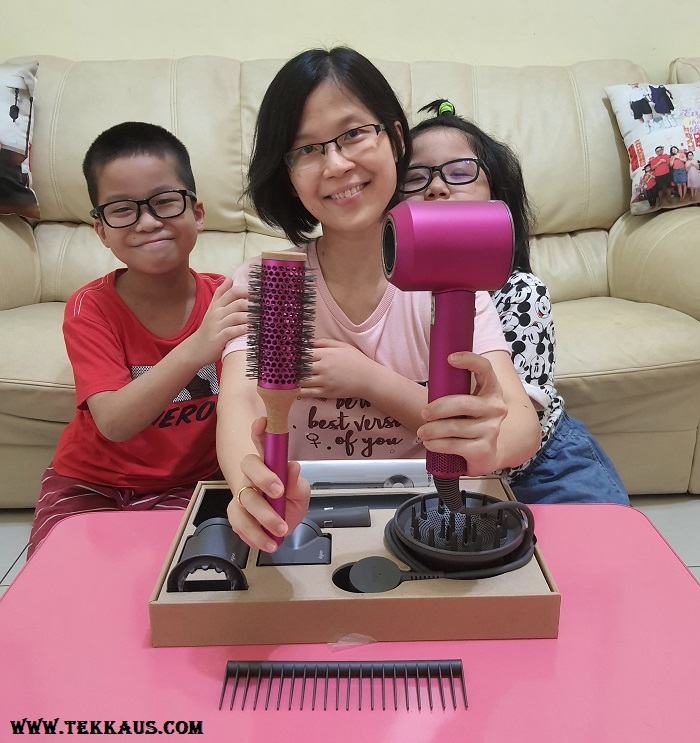 Unboxing Dyson Supersonic Hair Dryer Review Malaysia