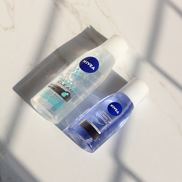 Review Nivea Double Effect Eye Make Up Remover And Make Up Clear