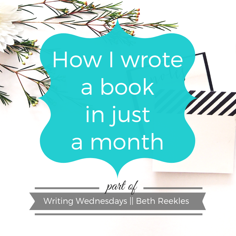 Last year, I finished a book that took me only a month to write - here's how I wrote it so quickly.
