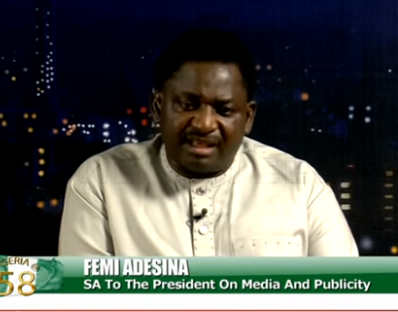 ''Increase in corruption is a fault of the people and not only government'' - Femi Adesina