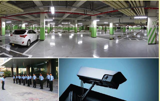 Hệ thống an ninh tại chung cư Gemek Premium