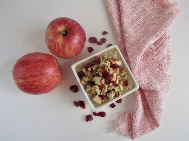 Parfait de quinoa, avena y frutas