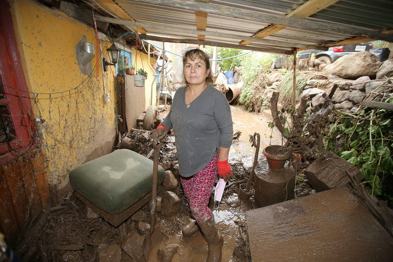Doris Araya cuenta cómo sobrevivió al aluvión en el Cajón del Maipo