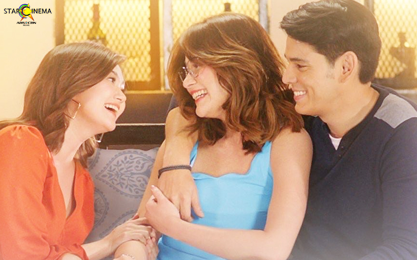 Angelica Panganiban as Deena, Bea Alonzo as Mariel and Richard Gutierrez as Justin