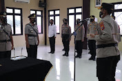 Kapolres Serang Pimpin Sertijab Kapolsek Tanara dari AKP Mulyanto ke AKP Wawan Suwandi