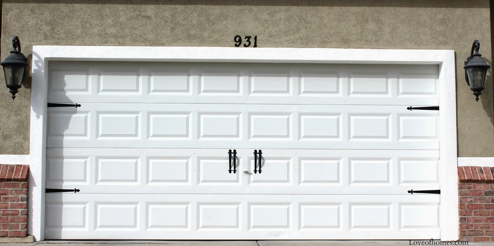 LOVE OF HOMES: Garage Doors...