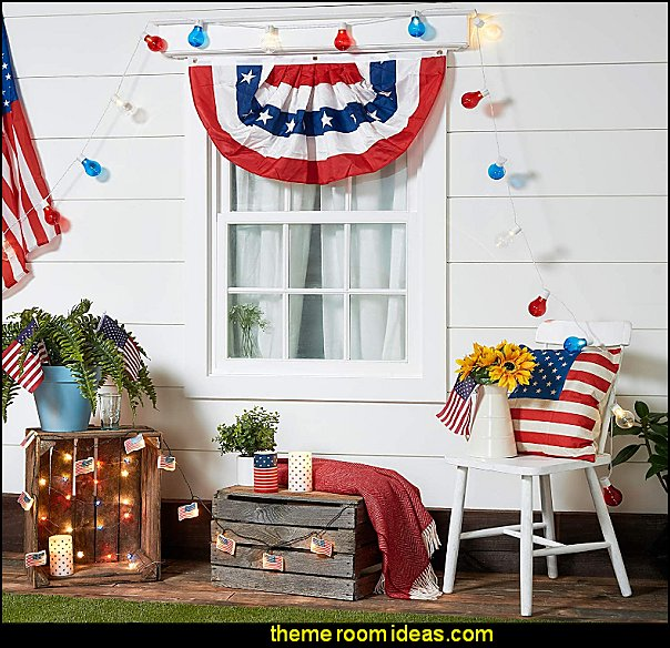 patriotic party decorations americana party supplies 4th july party decorating americana themed rooms