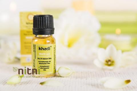 Khadi White Lily - recenzja olejku z białą lilią do twarzy i ciała  - czytaj dalej »
