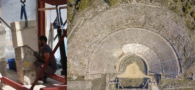 Το αρχαίο θέατρο της Δωδώνης ξαναγεννιέται… – ΦΩΤΟ