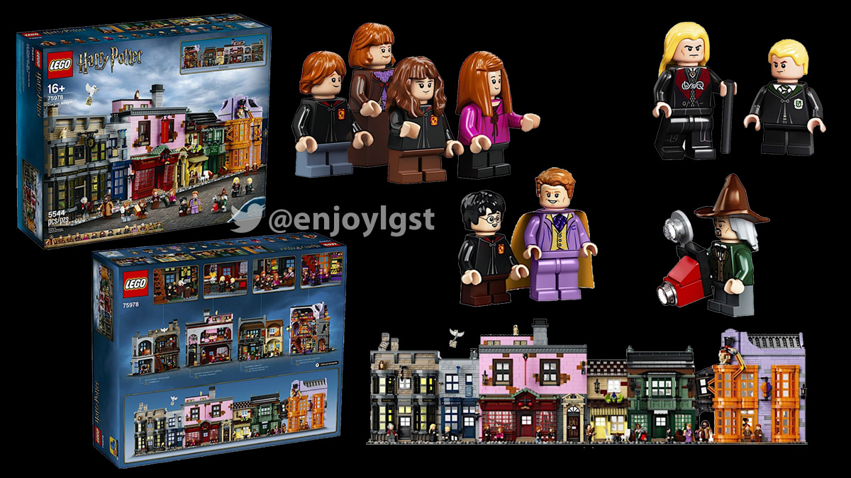 75978 ダイアゴン横丁:レゴ (LEGO) ハリー・ポッター