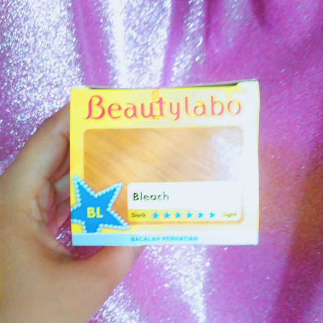 beautylabo bleach haircolor review