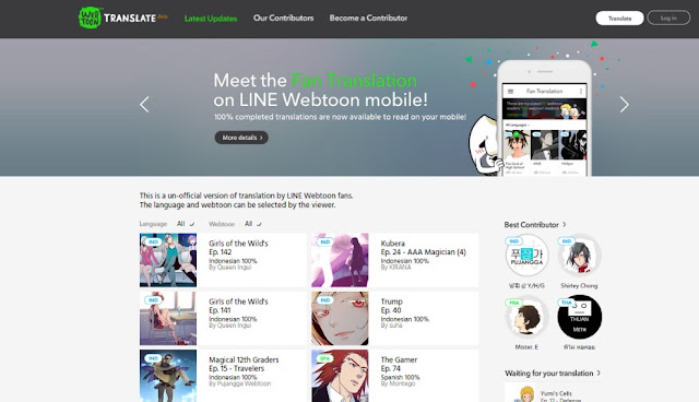 3 Cara Mudah Belajar Bahasa Inggris Lewat Aplikasi Komik Line Webtoon Favoritmu :)