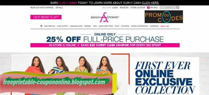 Ashley stewart coupon codes 2018