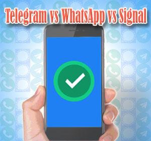 Telegram vs WhatsApp vs Signal : Mana Yang Lebih Baik Privasi dan Keamanannya?