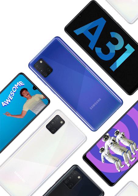 Samsung Galaxy A31 Rs.1000/- Price Cut With 6GB RAM, 48MP Qaud Rear Camera & More
