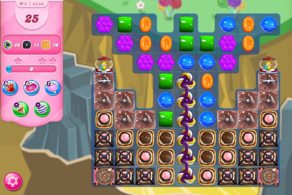 Candy Crush Saga level 6240