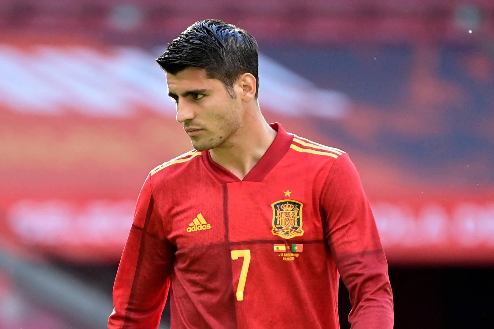 La Furia Roja striker Alvaro Morata