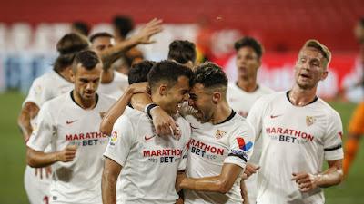 ملخص وهدف فوز اشبيلية علي فالنسيا (1-0) الدوري الاسباني
