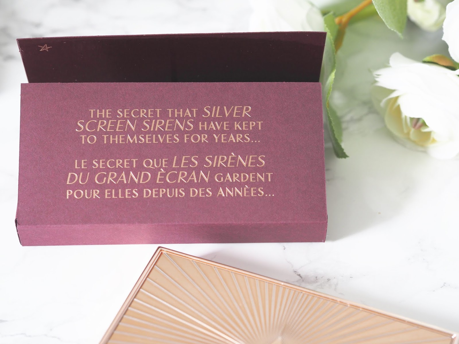 Charlotte Tilbury filmstar bronze and glow palette \ bronzer \ highlighter