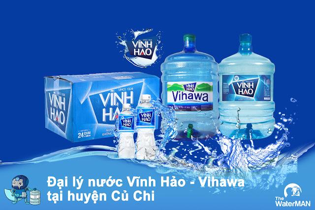 Đại lý nước Vĩnh Hảo - Vihawa đóng chai huyện Củ Chi