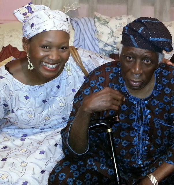 Kemi Olunloyo: I did not grant any interview disowning my daughter – Former Oyo Governor, Victor Olunloyo