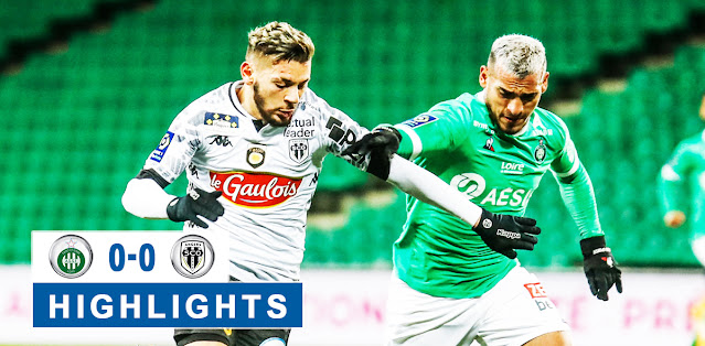 Saint-Étienne vs Angers SCO – Highlights