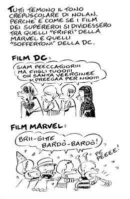 Leo Ortolani Marvel DC Zack Snyder's Justice League recensione