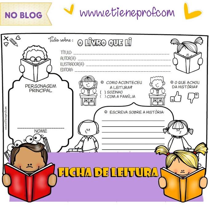 FICHA DE LEITURA - TUDO SOBRE O LIVRO QUE LI