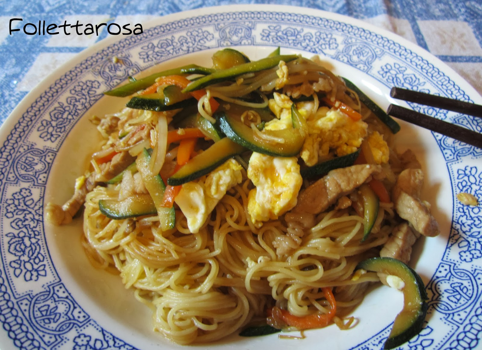 ricetta spaghetti cinese