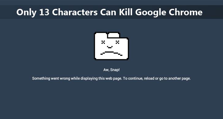 google-chrome-crash-vulnerability