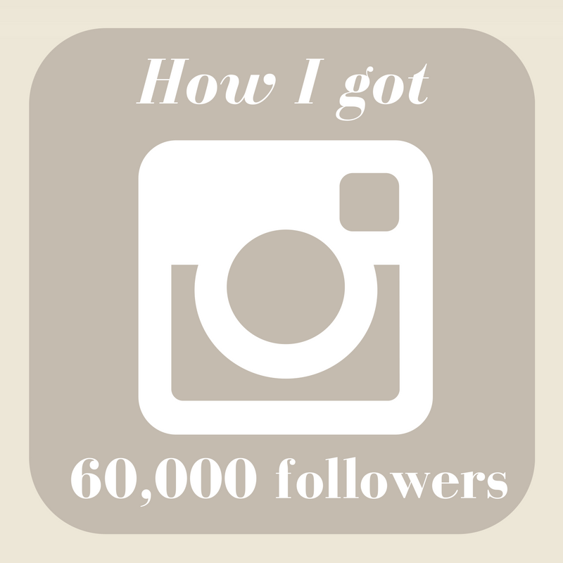 How I Got 60000 Instagram Followers The Home That Made Me