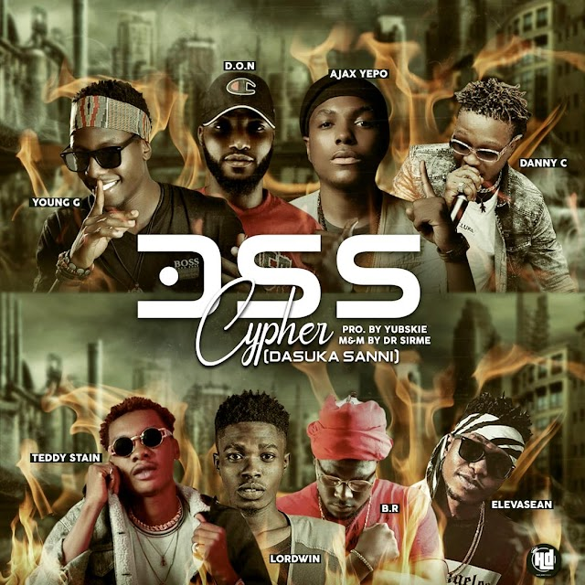MUSIC: Don - DSS Cypher Ft. Elevasean, Lordwin, Ajex, Danny Cee, Teddy Stain, B.R & Young Gee