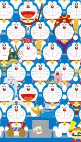 gambar Doraemon banyak
