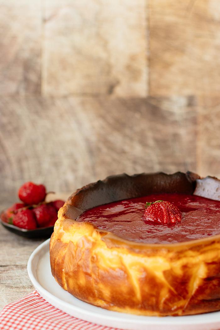 San Sebastian Cheesecake Damys Kitchen