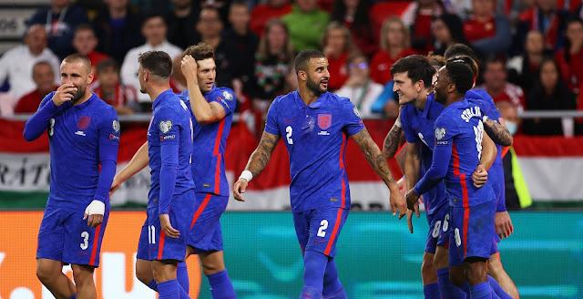 ملخص واهداف مباراة انجلترا والمجر (4-0) تصفيات كاس العالم