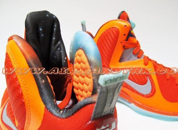 half off 1108e ba05e Nike Lebron 9 Allstar Galaxy Sneaker (Detailed Images)