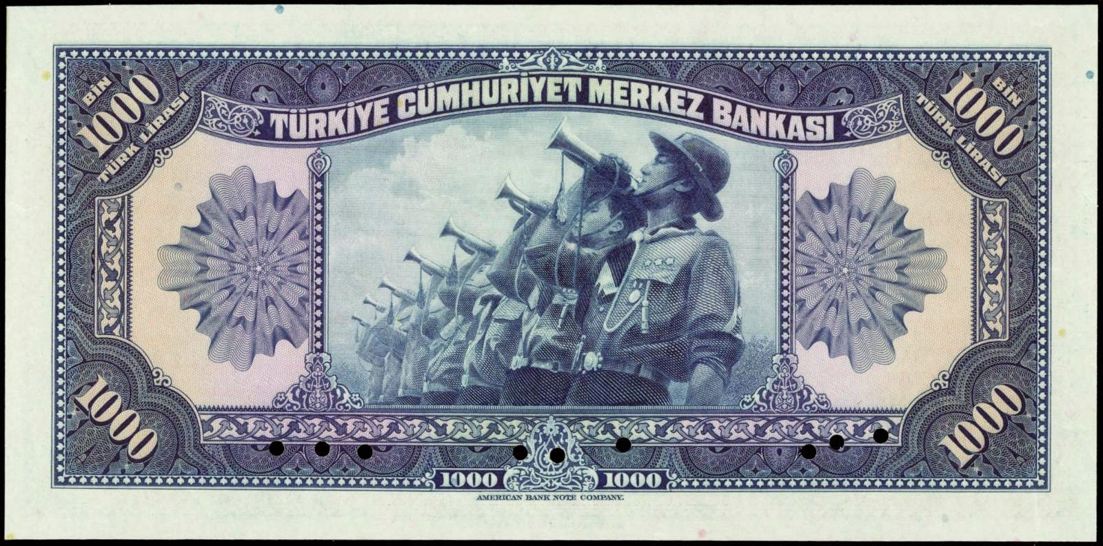 1000 Turkish Lira