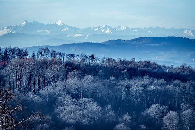 Tatry, Głobikowa, Południk, zima