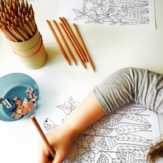 Creativebug colouring class on Crafts from the Cwtch Blog