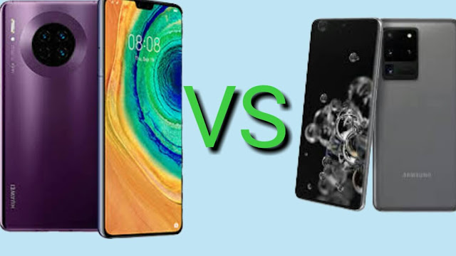Galaxy Ultra 5G and Huawei Mate 30 Pro which one is the king?